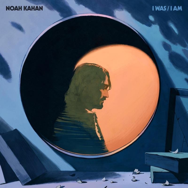 "Noah Kahan - ""Godlight"" song cover art"