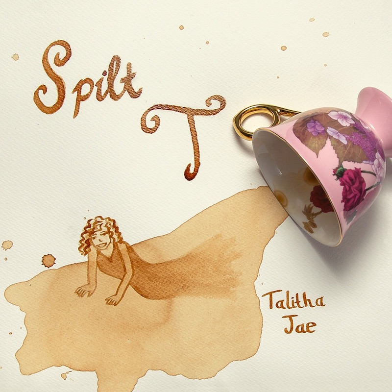"Talitha Jae - ""Split T"" EP cover art"