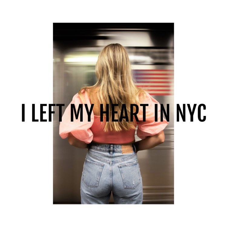 Taylor Tote - I Left My Heart In NYC - Cover
