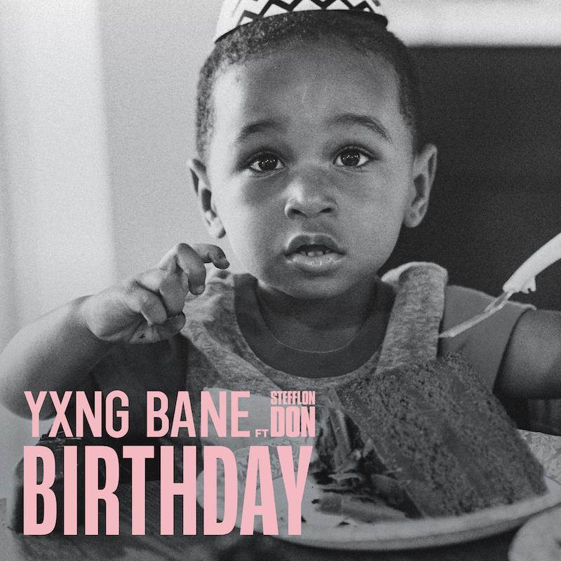 "Yxng Bane - ""Birthday"" song cover art"