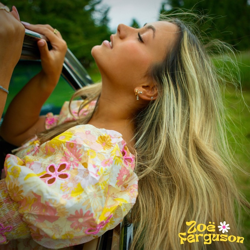 "Zoë Ferguson - ""Stop Asking My Friends About Me"" song cover art"