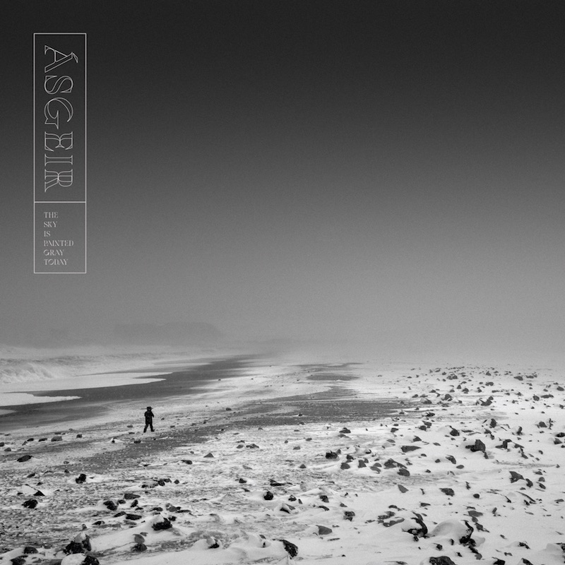 """Ásgeir - """"The Sky Is Painted Gray Today"""" EP cover"""