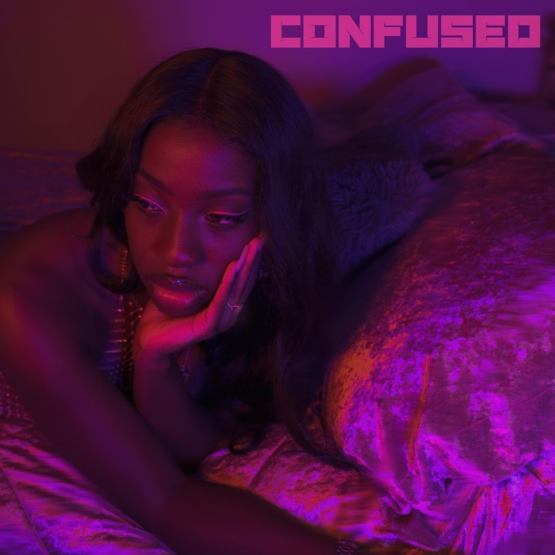 """Anayka She - """"Confused"""" song cover art"""