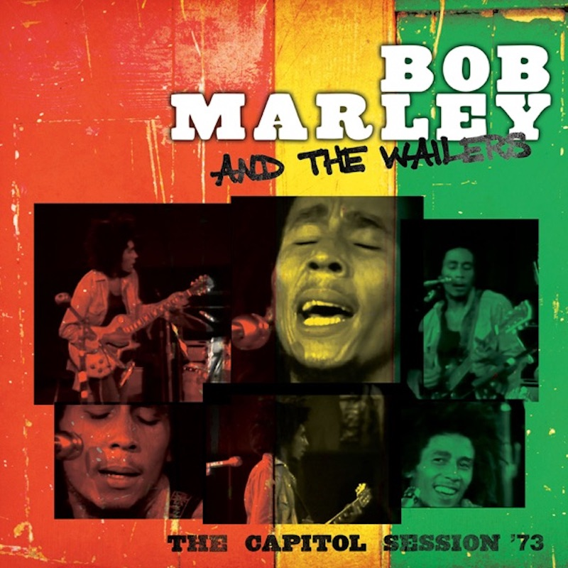 Bob Marley and the Wailers - 'The Capitol Session '73 (Live)' album cover