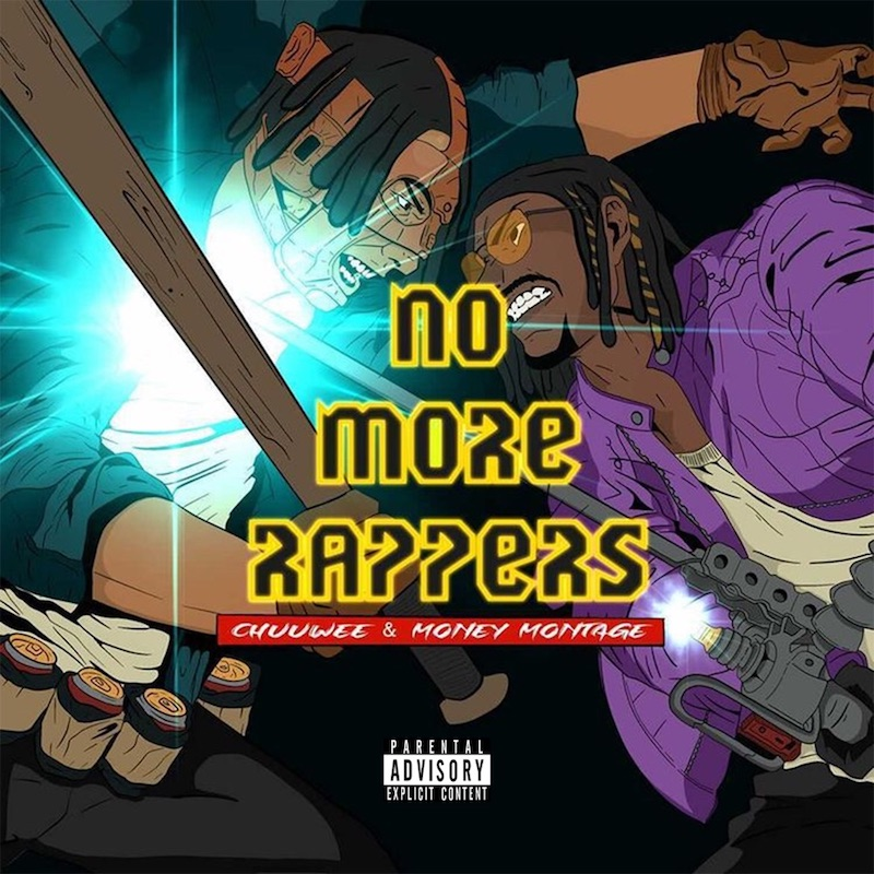 """Chuuwee and Money Montage - """"No More Rappers"""" album cover"""