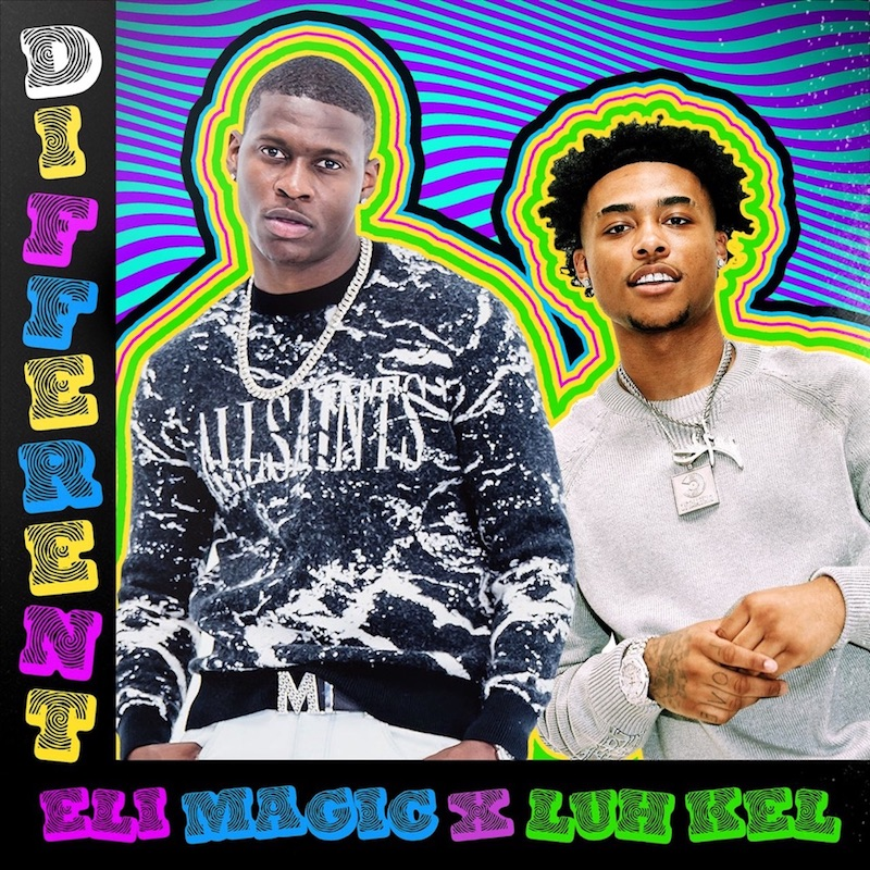 """Eli Magic and Luh Kel - """"Different"""" song cover art"""