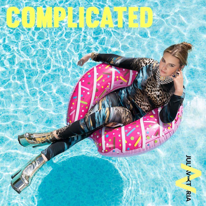 "Julia Viktoria - ""Complicated"" song cover art"