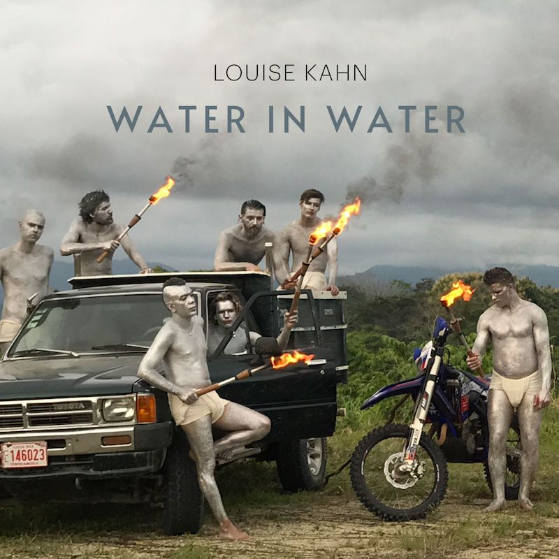 """Louise Kahn - """"Water in Water"""" song cover art"""