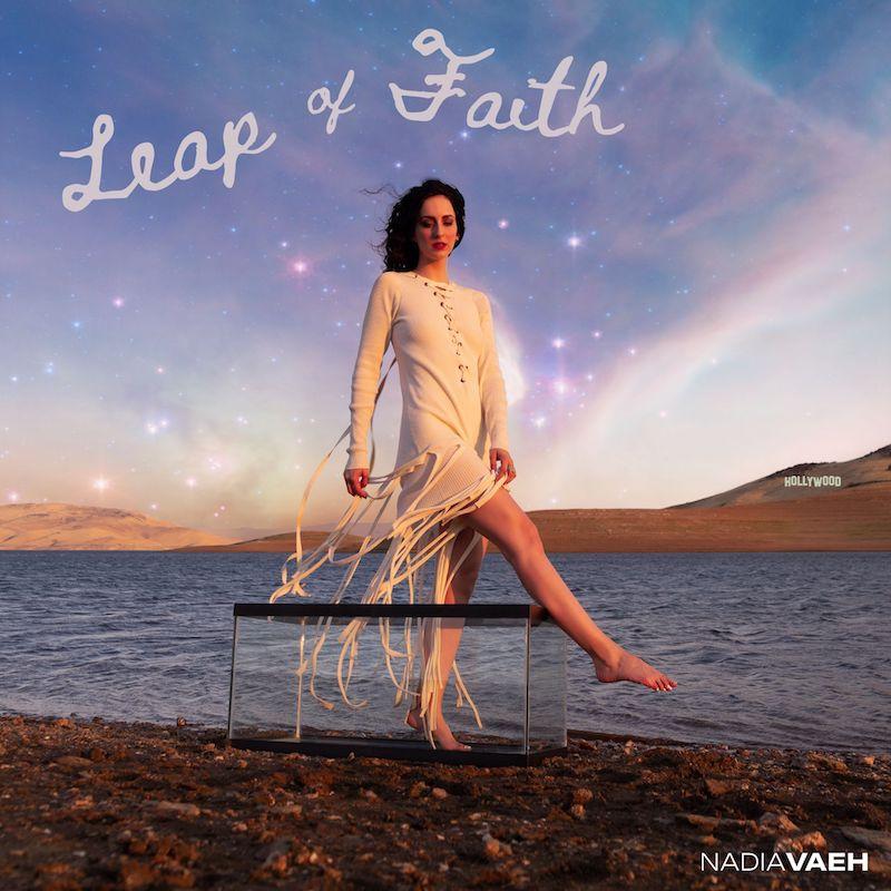 """Nadia Vaeh - """"Leap of Faith"""" song cover art"""