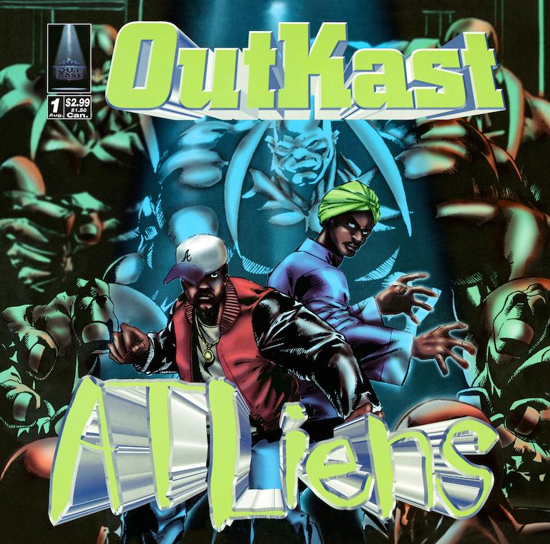 """Outkast - """"ATLiens"""" album cover art"""