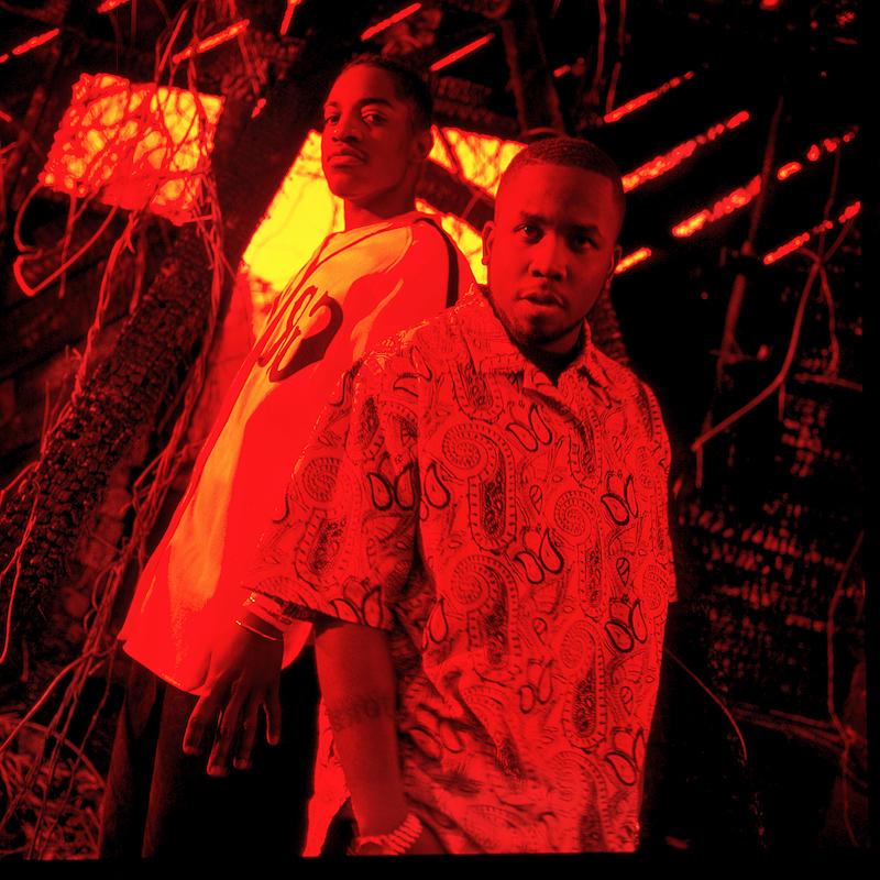 Dre + Big Boi, OutKast, Atlanta GA., Dec. 1995