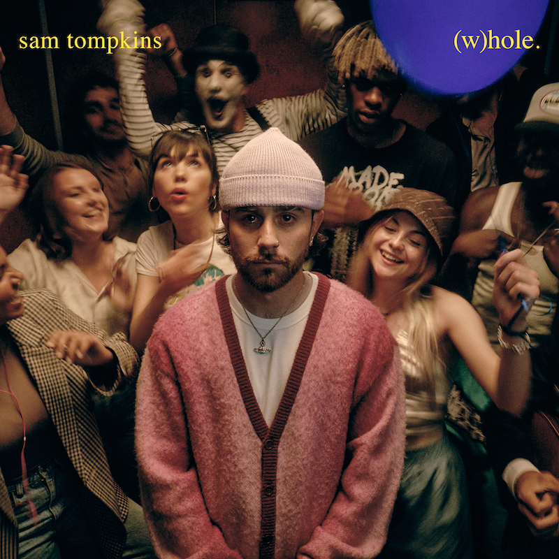 Sam Tompkins - (w)hole single cover