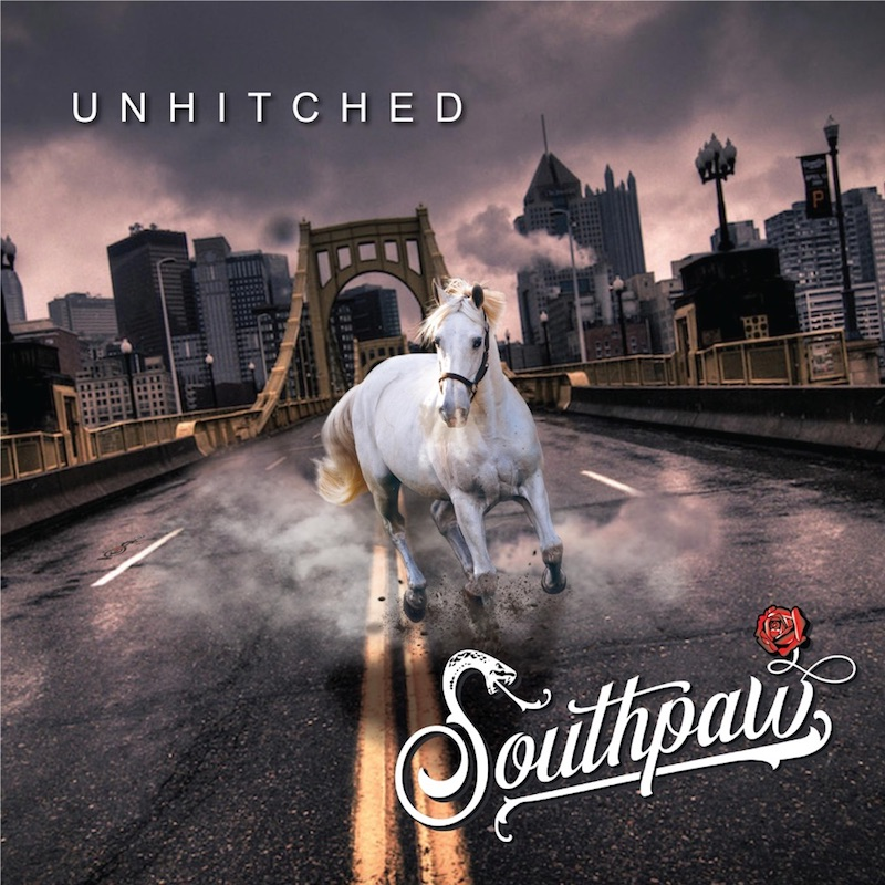"""Southpaw - """"Unhitched"""" album cover art"""