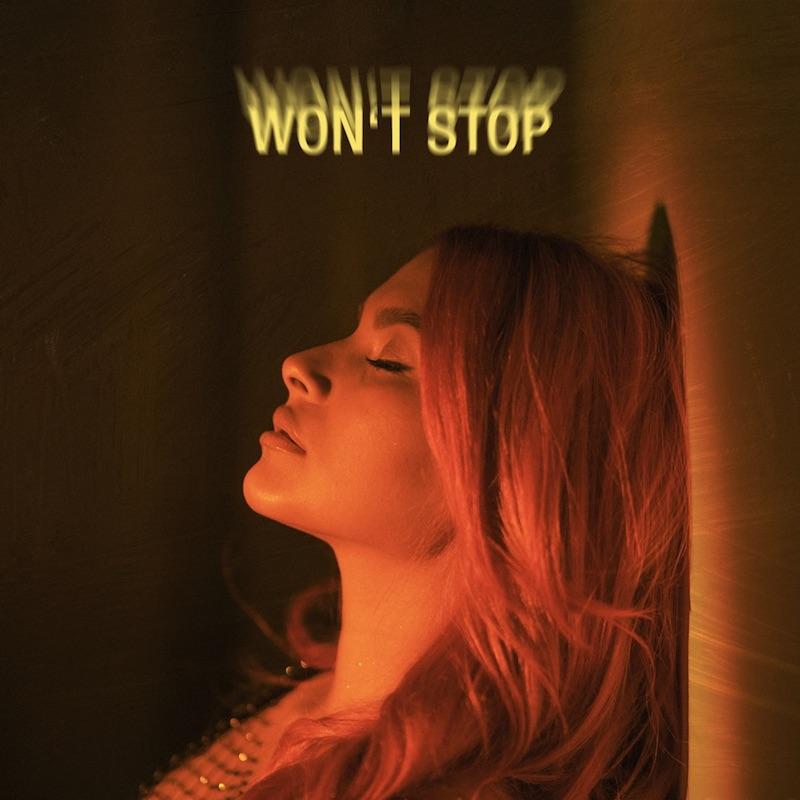 "Tabitha Nauser - ""Won't Stop"" song cover art"
