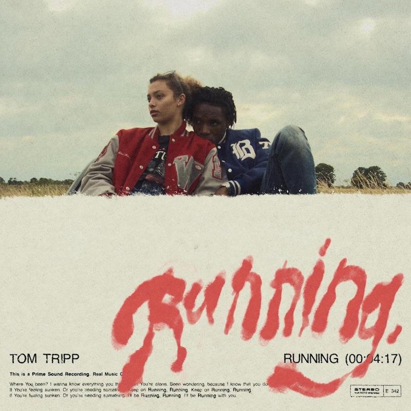"Tom Tripp - ""Running"" song cover art"