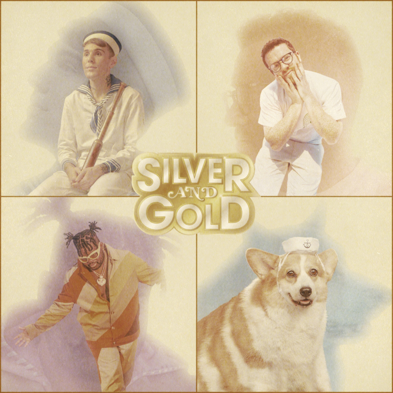 """Yung Bae - """"Silver and Gold"""" single cover art"""