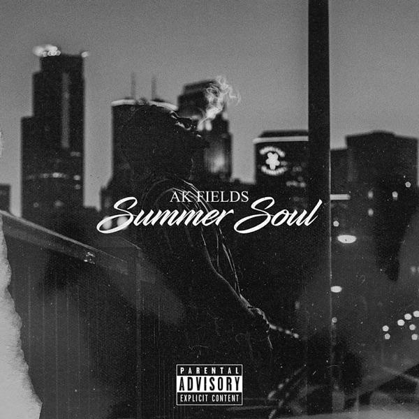 "AK Fields - ""Summer Soul"" album cover"