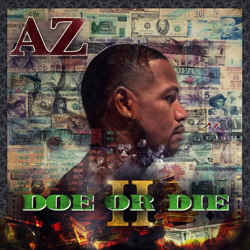 """AZ - """"Doe Or Die II"""" album cover"""