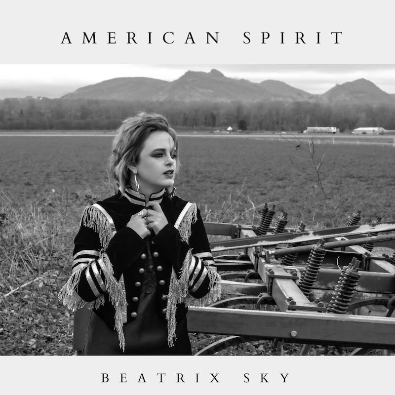 "Beatrix Sky - ""American Spirit"" EP cover"