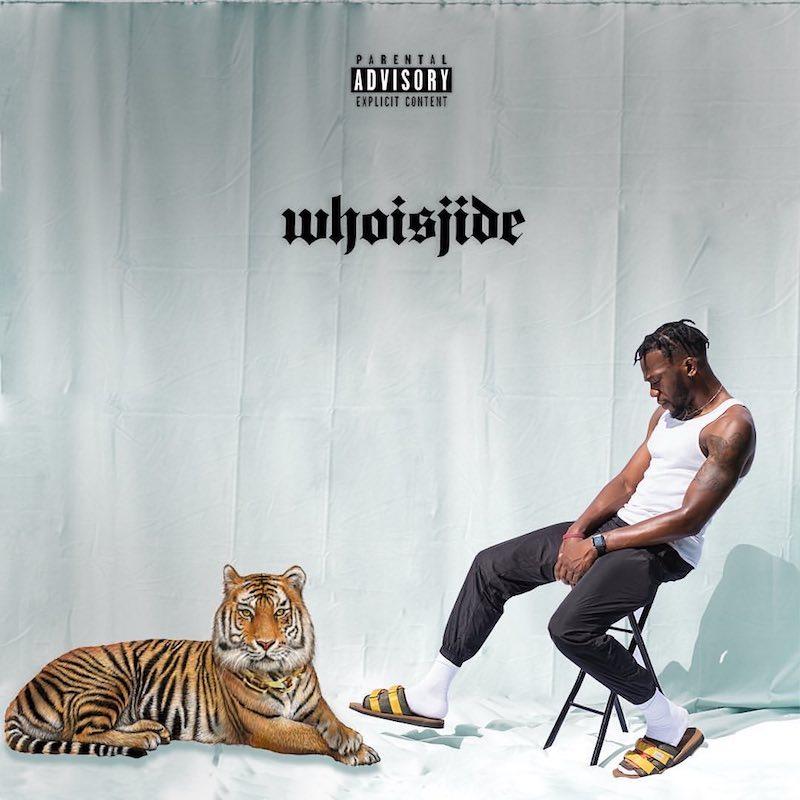 "Jide - ""WHOISJIDE"" album cover"