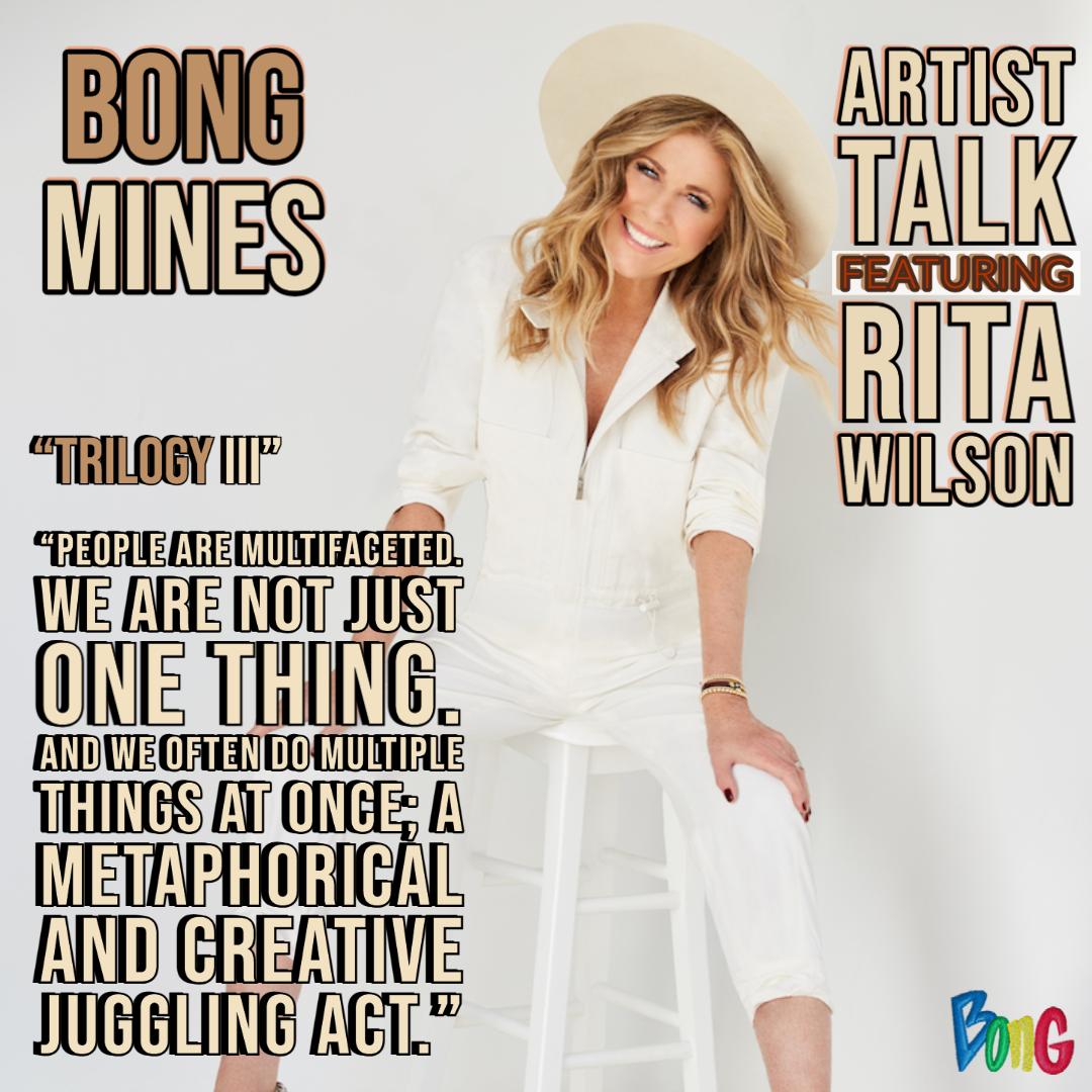 Rita Wilson Bong Mines Entertainment Artist Talk cover
