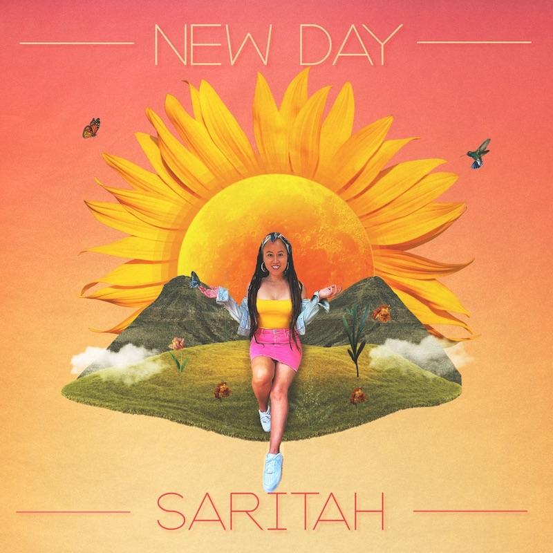 "Saritah - ""New Day"" song cover art"