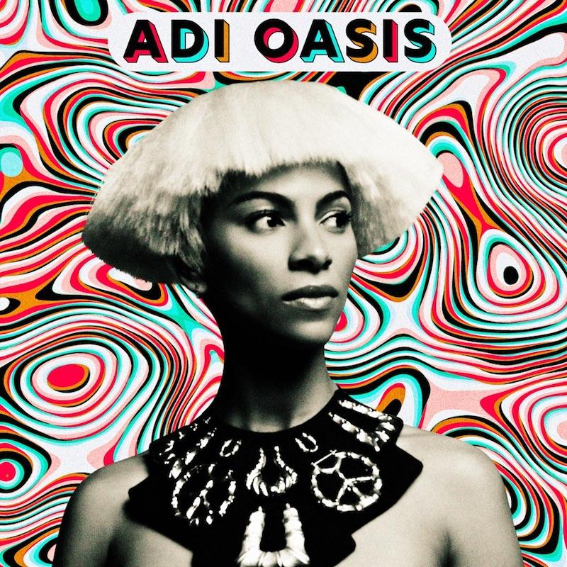 "Adeline - ""Adi Oasis"" EP cover"
