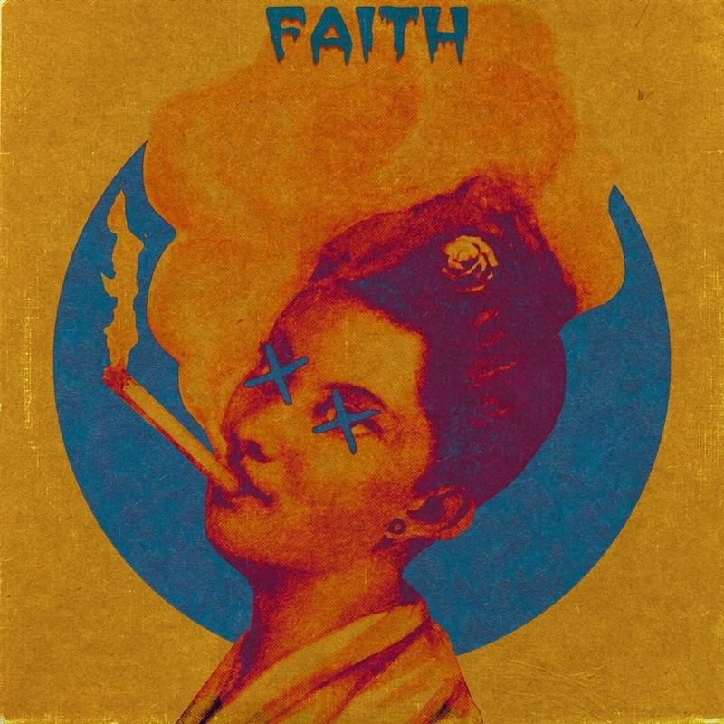"""Courtney Fox - """"Faith"""" song cover art"""