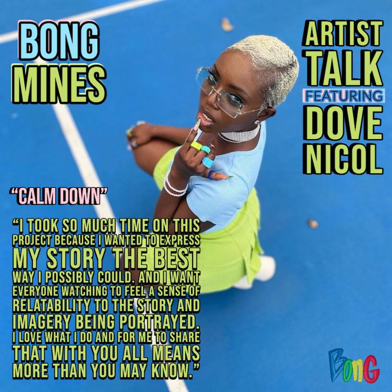 Dove Nicol - Bong Mines Artist Talk cover