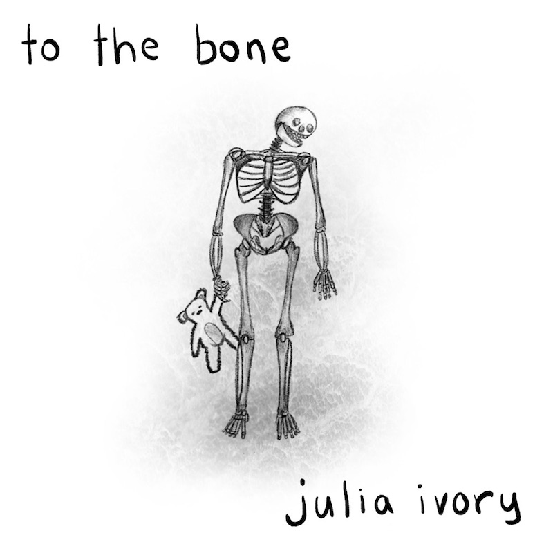"""Julia Ivory - """"To the Bone"""" song cover art"""