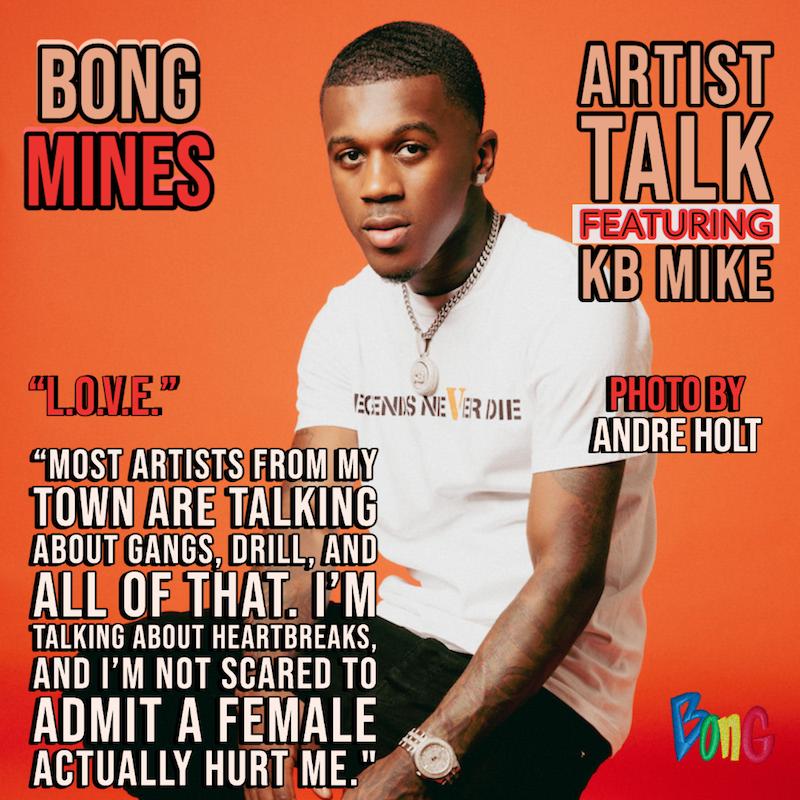 KB Mike - Bong Mines Artist Talk cover