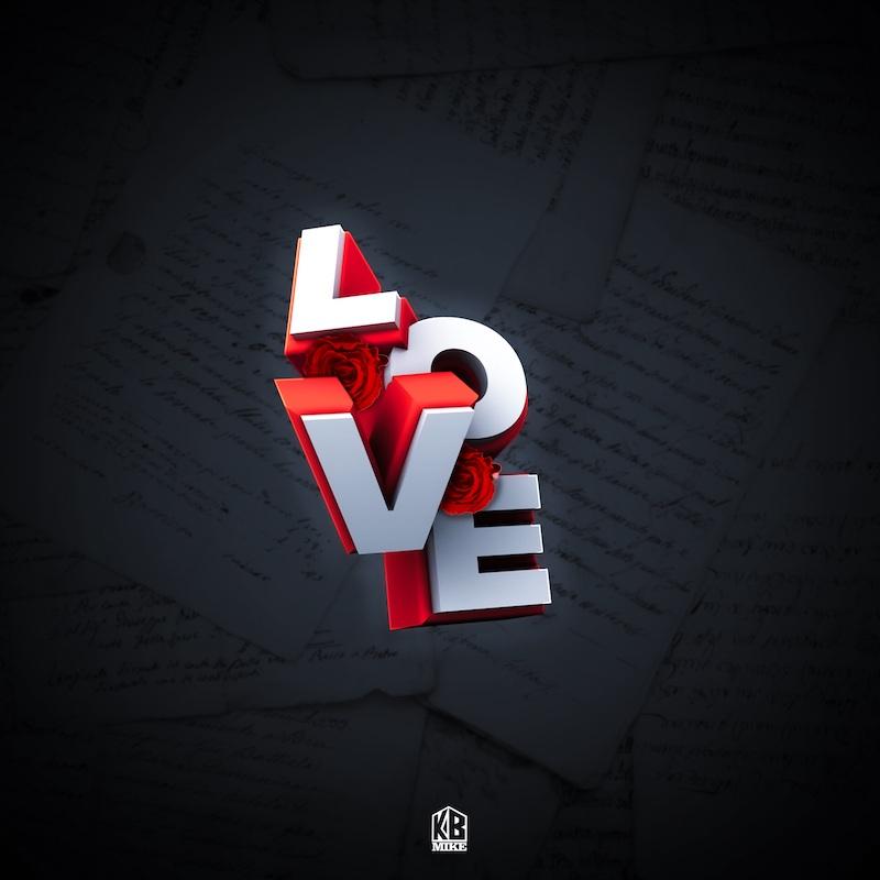 "KB Mike - ""L.O.V.E."" cover art"
