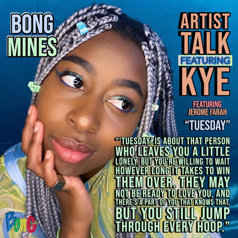 KYE Bong Mines Artist Talk cover
