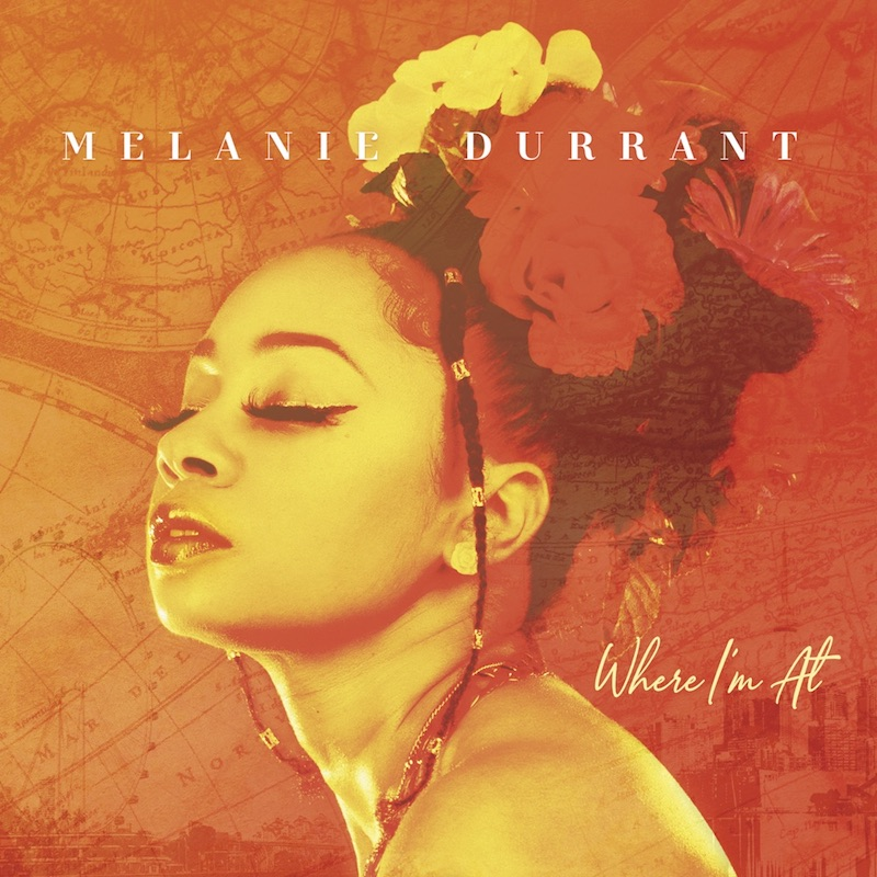 """Melanie Durrant - """"Bait and Switch"""" song cover art"""