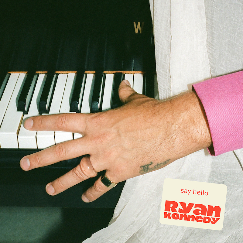 "Ryan Kennedy - ""Say Hello"" song cover art"