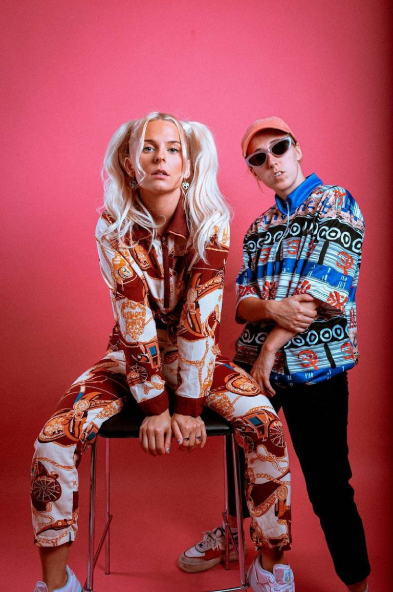 """Sofiloud and Gucci Caliente - """"The Hookup"""" press photo"""