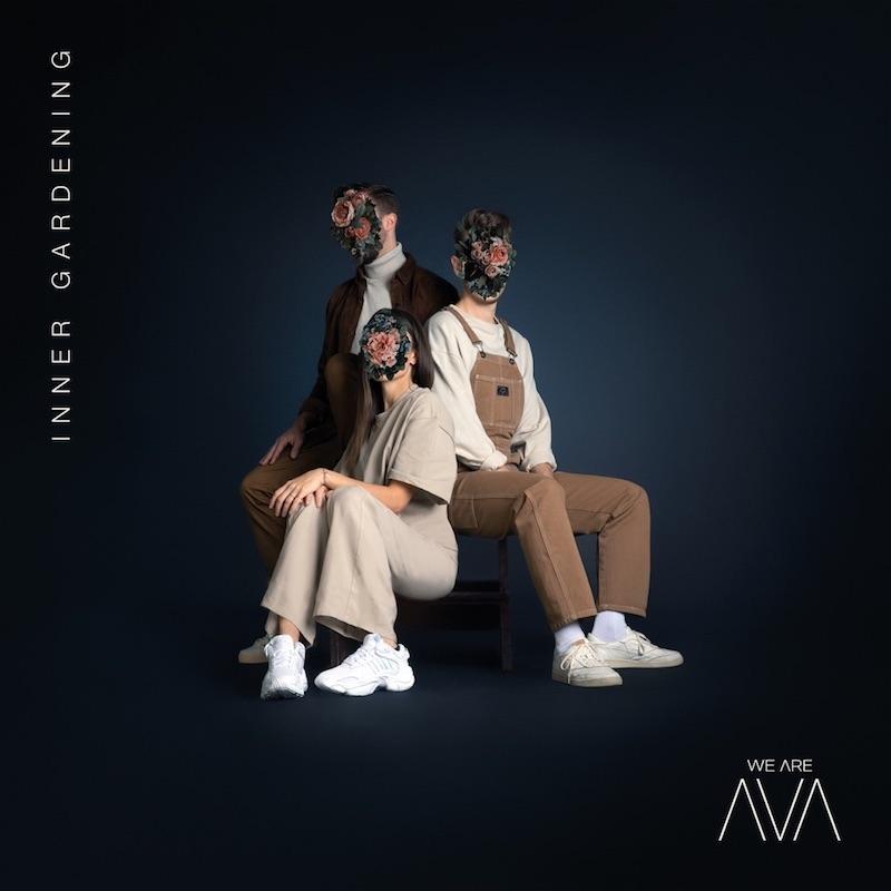 """WE ARE AVA - """"Inner Gardening"""" album cover"""